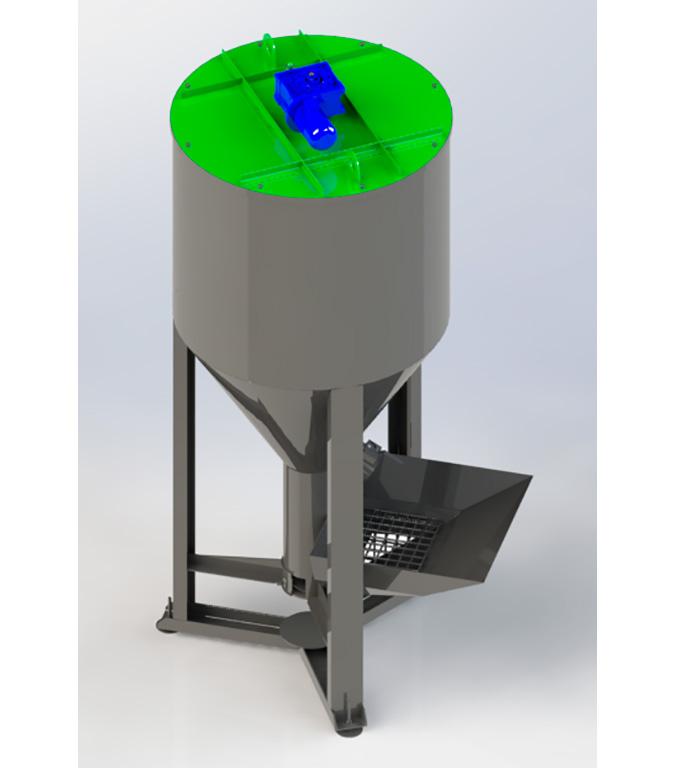 Смеситель вертикальный (500 л — 3000 л)