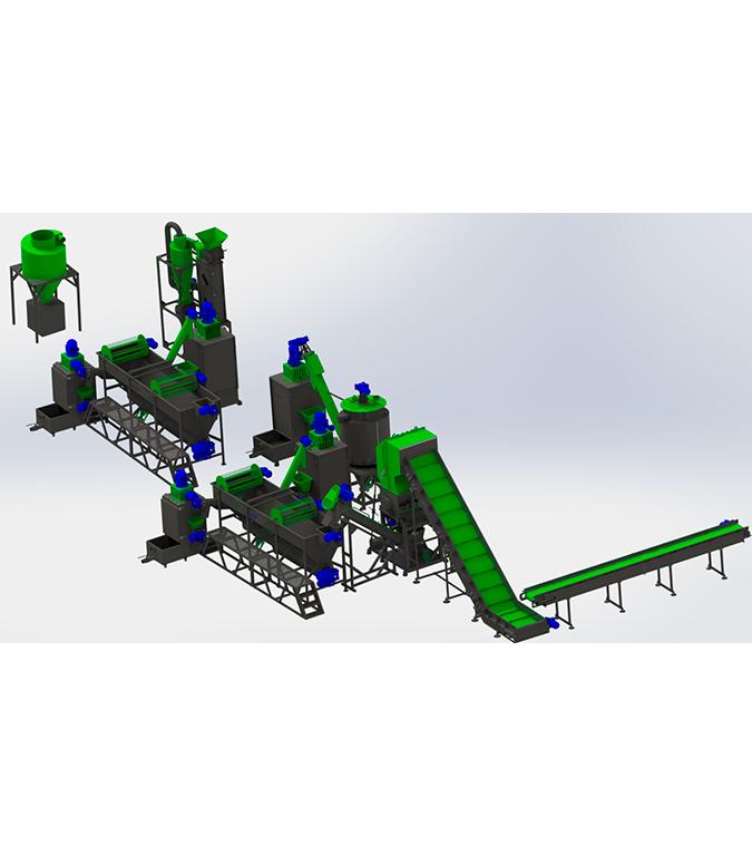 Линия по переработке ПЭТ 300-500 кг/ч